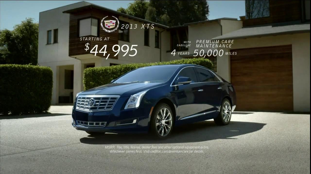 Cadillac XTS TV Commercial