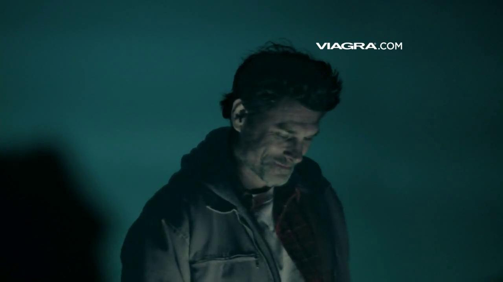 Viagra commercial old man