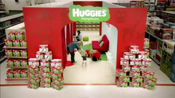 Huggies Slip-On TV Spot, 'Fitting Room'