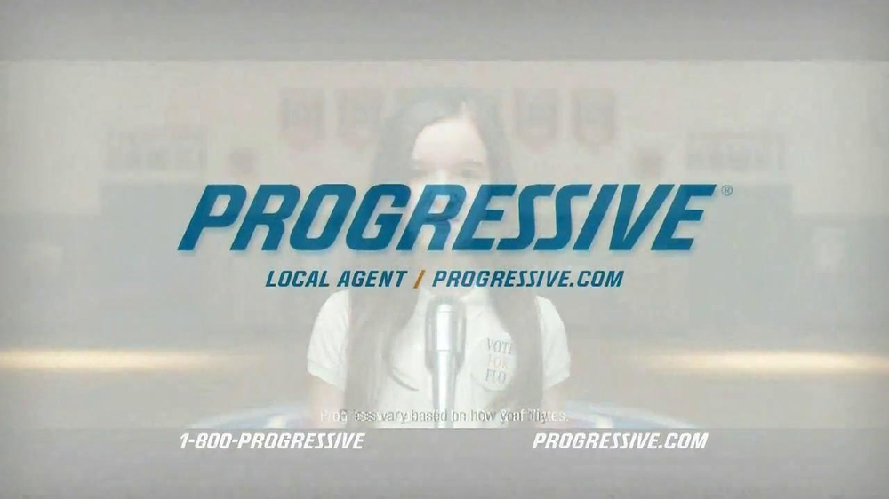 Progressive TV Spot, 'Vote for Flo' - Screenshot 9
