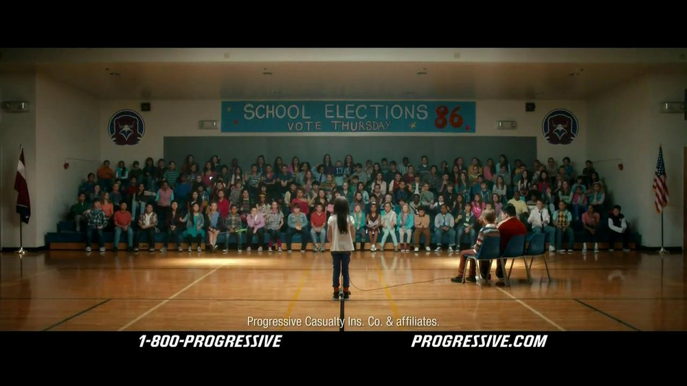 Progressive TV Spot, 'Vote for Flo' - Screenshot 8