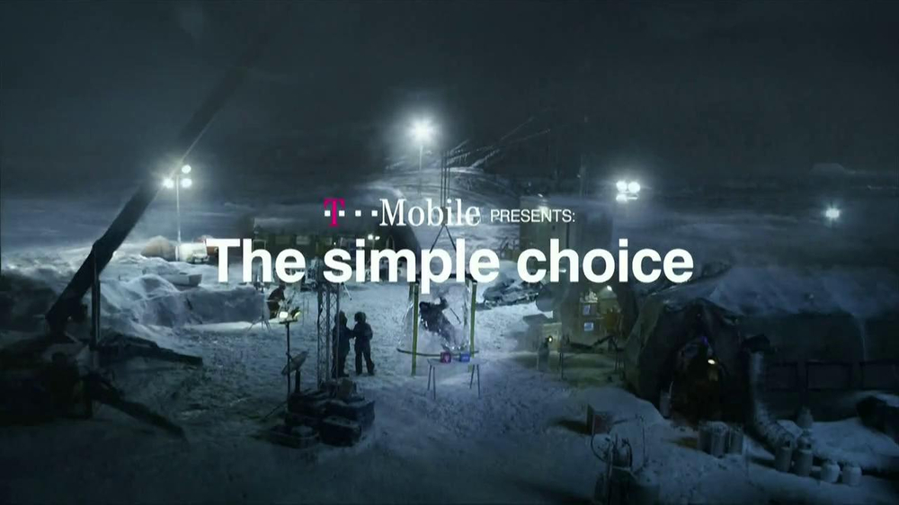 T-Mobile TV Spot, 'Frozen in Ice' - Screenshot 1