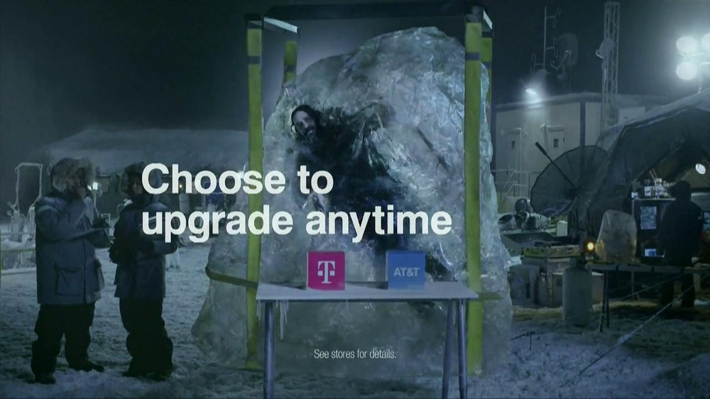 T-Mobile TV Spot, 'Frozen in Ice' - Screenshot 7