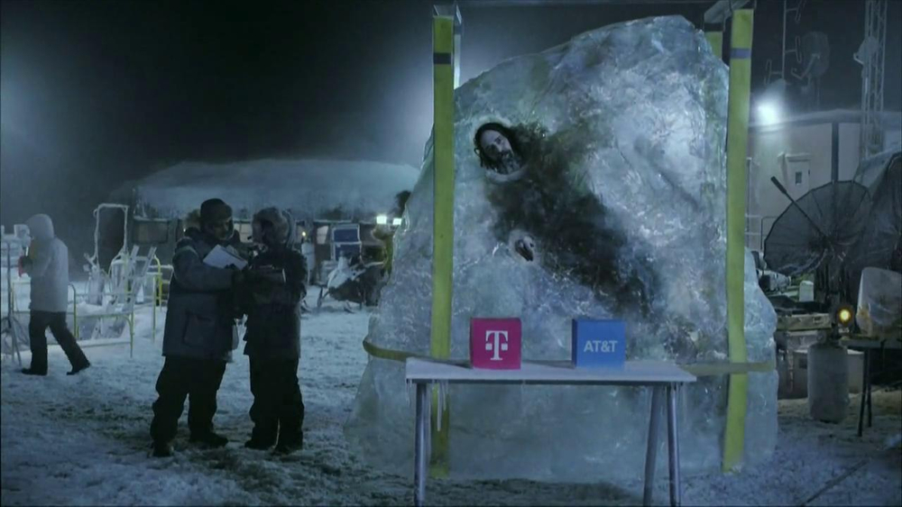 T-Mobile TV Spot, 'Frozen in Ice' - Screenshot 2