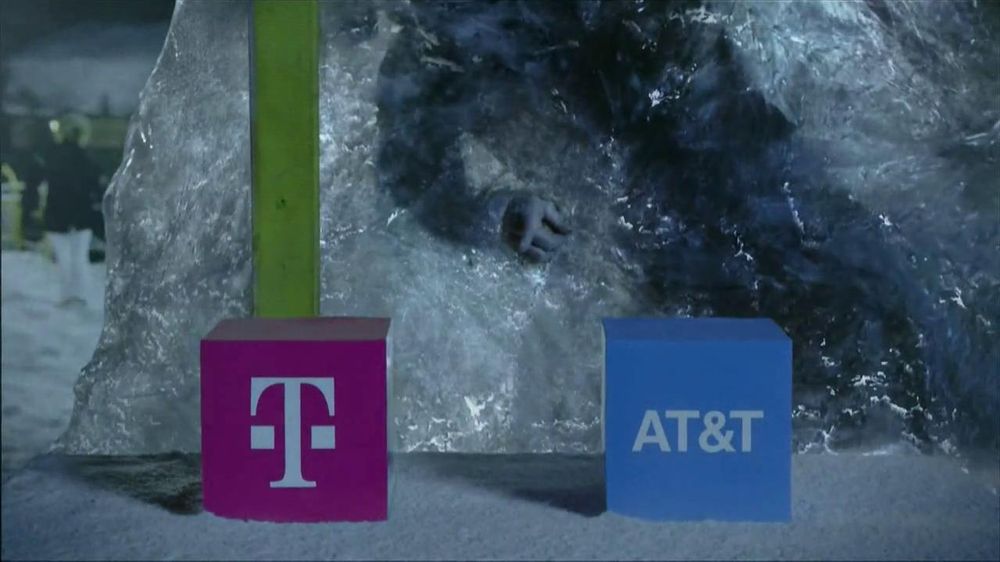 T-Mobile TV Spot, 'Frozen in Ice' - Screenshot 3