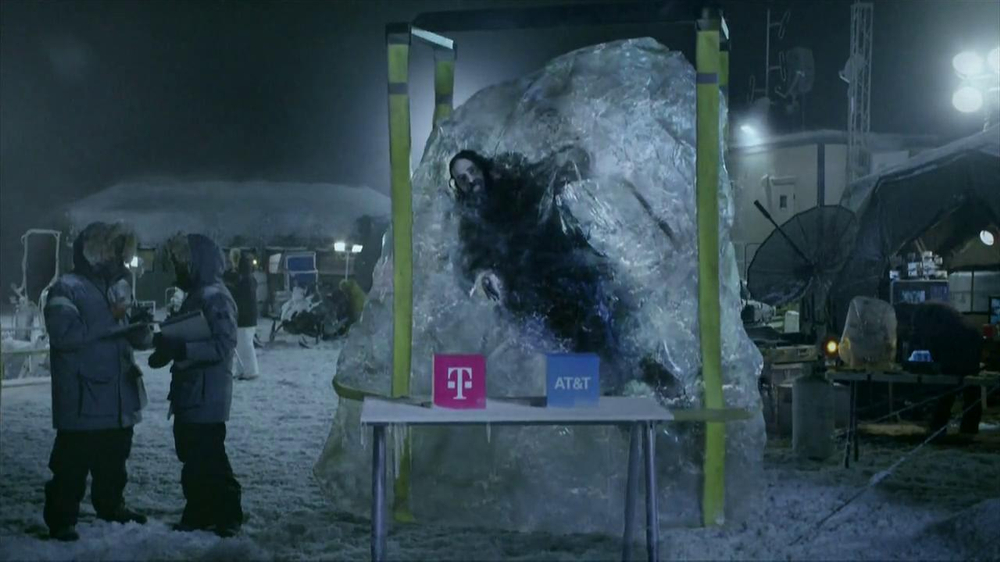 T-Mobile TV Spot, 'Frozen in Ice' - Screenshot 6