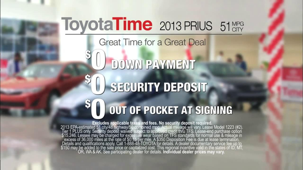 Toyota Time Sales Event TV Spot, 'Great Memory' - Screenshot 8