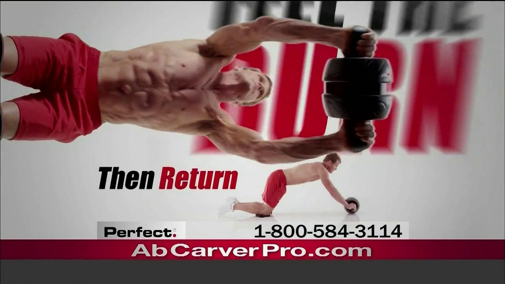 Ab Carver Pro TV Spot, 'Toned Waist' - Screenshot 4