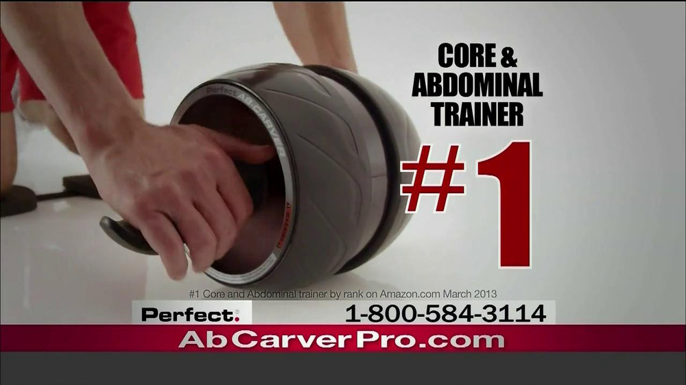 Ab Carver Pro TV Spot, 'Toned Waist' - Screenshot 8