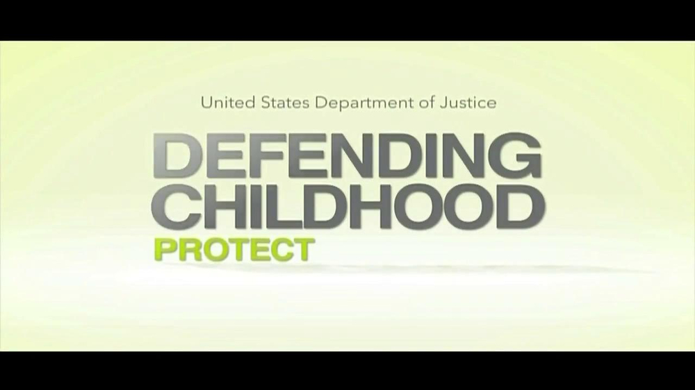 united states department of justice tv spot 39 defending childhood 39. Black Bedroom Furniture Sets. Home Design Ideas
