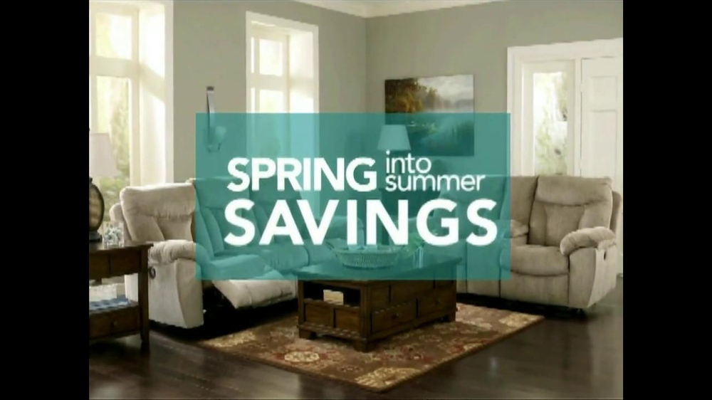 ashley furniture homestore tv commercial 39 spring into summer savings