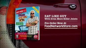 Food Network Store TV Spot, 'Eat Like Guy' Feat. Guy Fieri