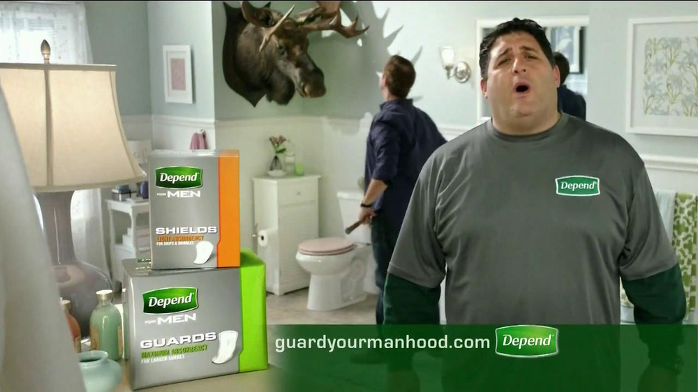 Depend Shields and Guards TV Spot Featuring Tony Siragusa - Screenshot 10