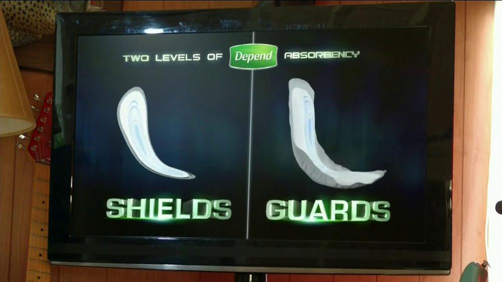 Depend Shields and Guards TV Spot Featuring Tony Siragusa - Screenshot 8