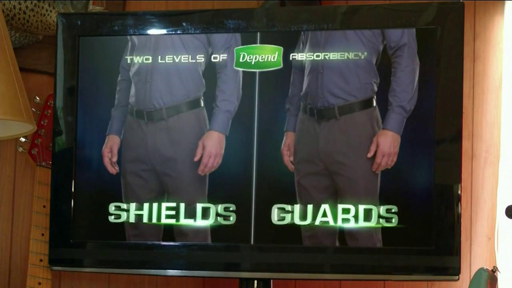 Depend Shields and Guards TV Spot Featuring Tony Siragusa - Screenshot 9