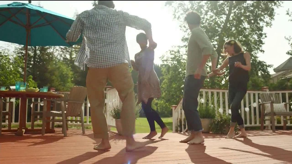 BEHR Paint DeckOver TV Spot, 'Dance Party' Song by Robert Parker - Screenshot 6