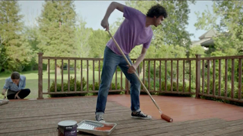 BEHR Paint DeckOver TV Spot, 'Dance Party' Song by Robert Parker - Thumbnail 5