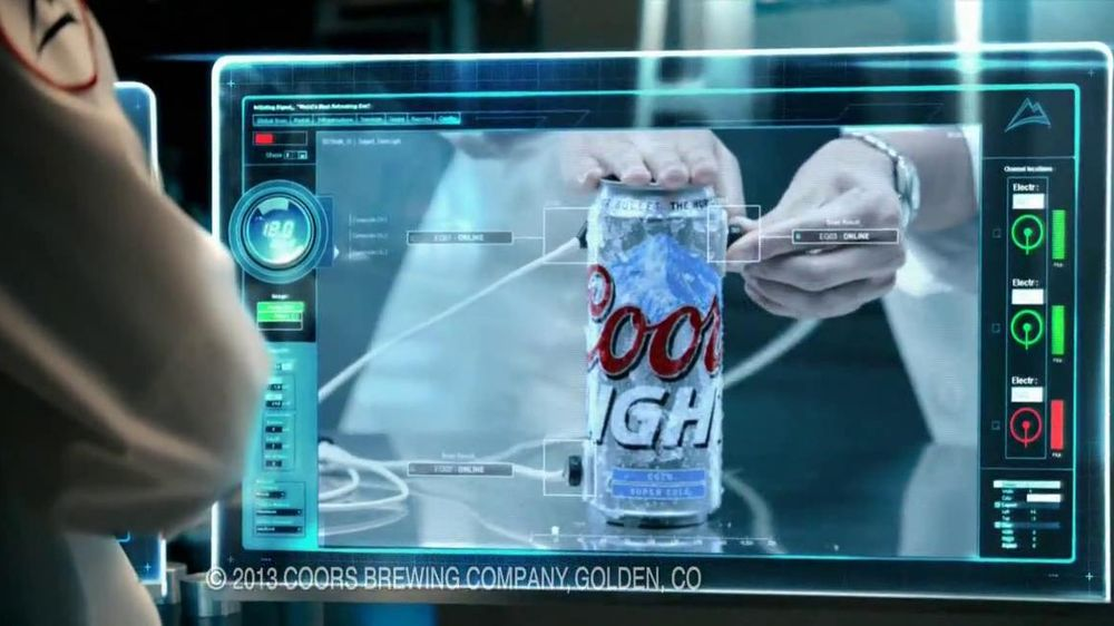 Coors Light TV Spot, 'World's Most Refreshing Can' Featuring Ice Cube - Screenshot 2