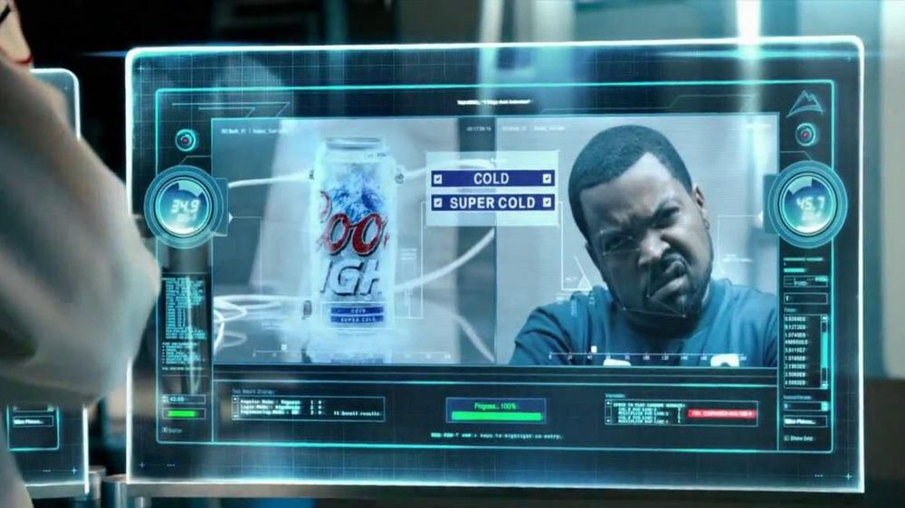 Coors Light TV Spot, 'World's Most Refreshing Can' Featuring Ice Cube - Screenshot 4