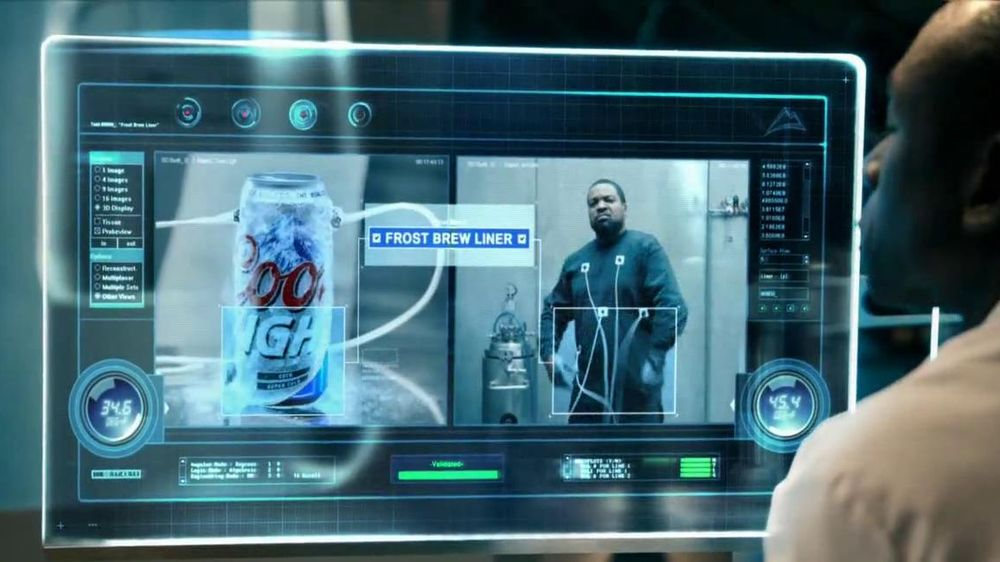 Coors Light TV Spot, 'World's Most Refreshing Can' Featuring Ice Cube - Screenshot 5