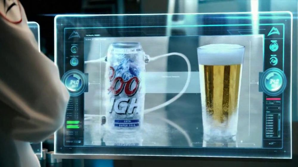 Coors Light TV Spot, 'World's Most Refreshing Can' Featuring Ice Cube - Screenshot 9