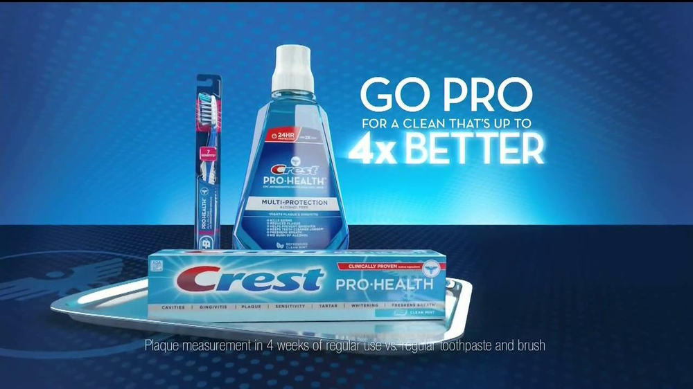 Crest Pro Health TV Spot, 'Check-up' - Screenshot 4