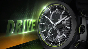 Citizen Eco-Drive Watch TV Spot, 'Drive'