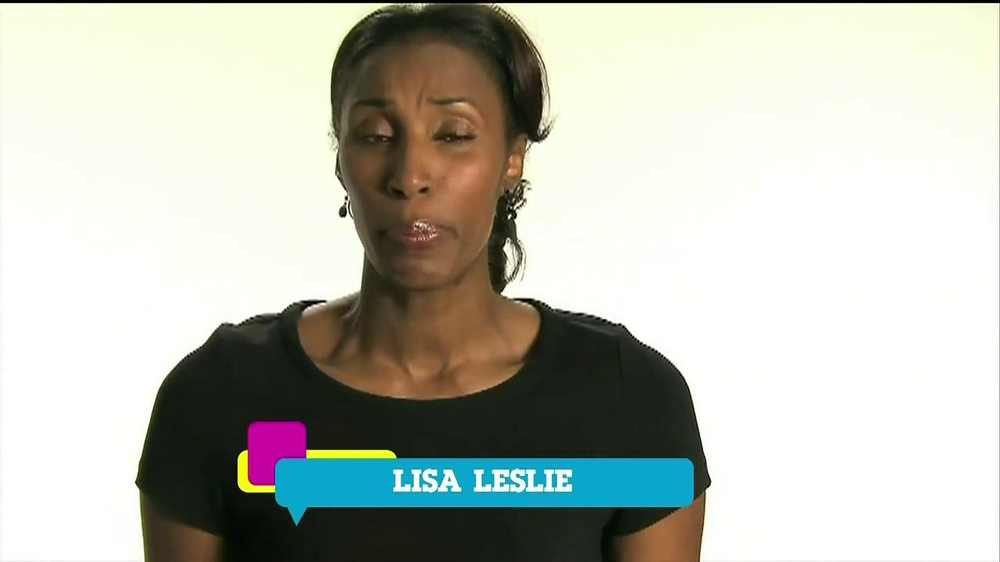 Cartoon Network TV Spot 'Stop Bullying' Featuring Lisa Leslie - Screenshot 5