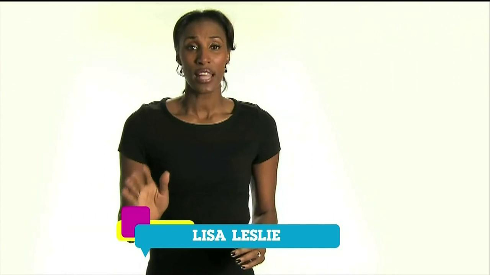 Cartoon Network TV Spot 'Stop Bullying' Featuring Lisa Leslie - Screenshot 6