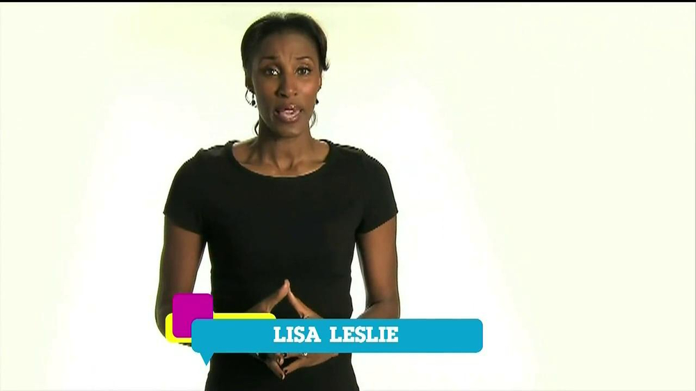 Cartoon Network TV Spot 'Stop Bullying' Featuring Lisa Leslie - Screenshot 7