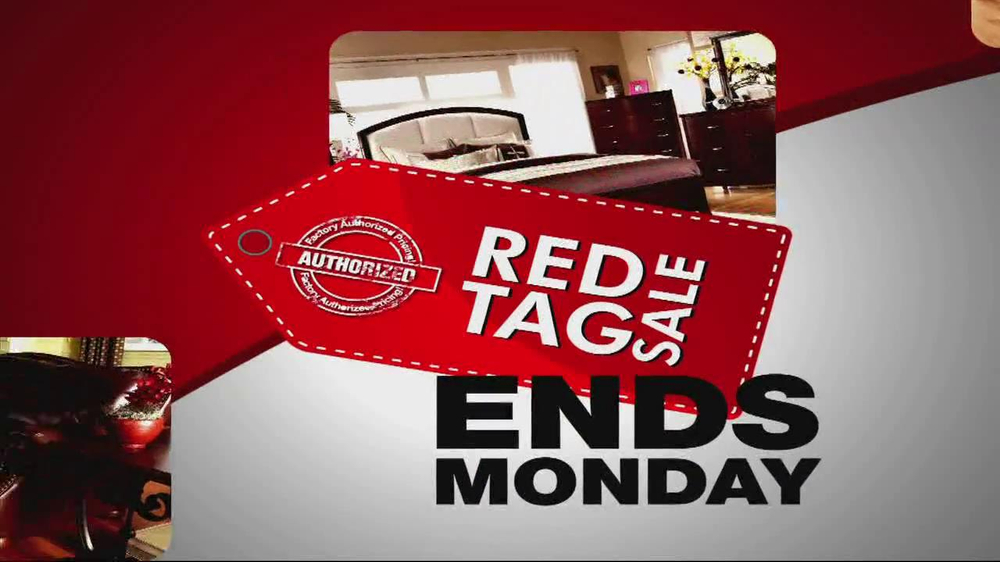 Ashley Furniture Homestore TV mercial Red Tag Sale