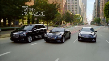 Infiniti Limited Engagement Spring Event TV Spot, 'Unravel'