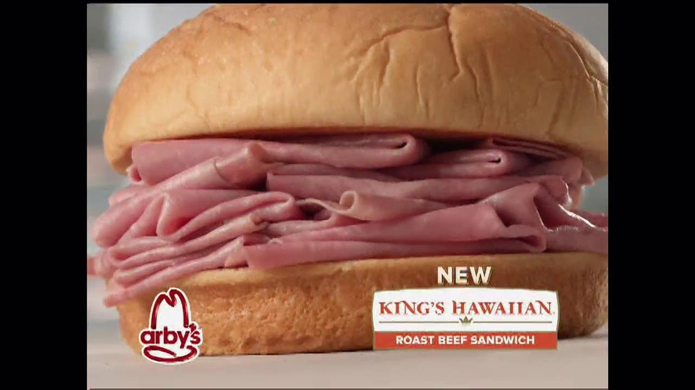 Arby's King's Hawaiian Roast Beef Sandwich TV Spot, 'It's Ono' - Screenshot 1