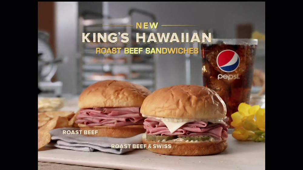 Arby's King's Hawaiian Roast Beef Sandwich TV Spot, 'It's Ono' - Screenshot 10