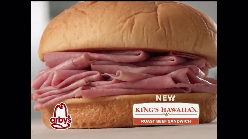 Arby's King's Hawaiian Roast Beef Sandwich TV Spot, 'It's Ono' - Screenshot 2