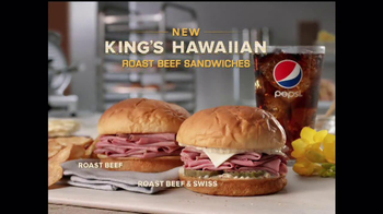 Arby's King's Hawaiian Roast Beef Sandwich TV Spot, 'It's Ono' - Thumbnail 9