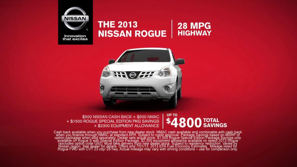 Nissan Rogue TV Spot - Screenshot 5