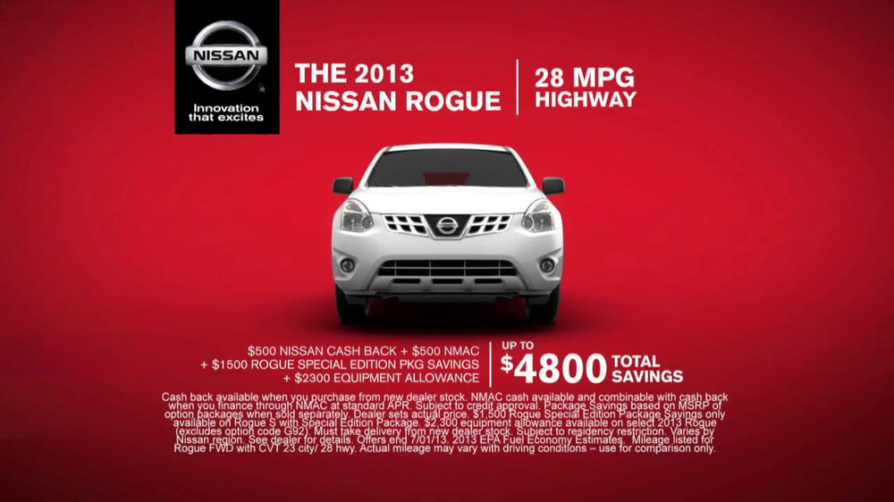 Nissan Rogue TV Spot - Screenshot 6