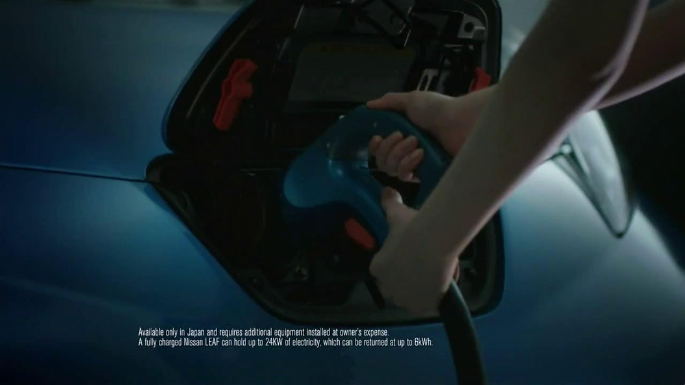 Nissan Leaf TV Spot, 'Drive the Future' Song by Bronze Radio Return - Screenshot 9