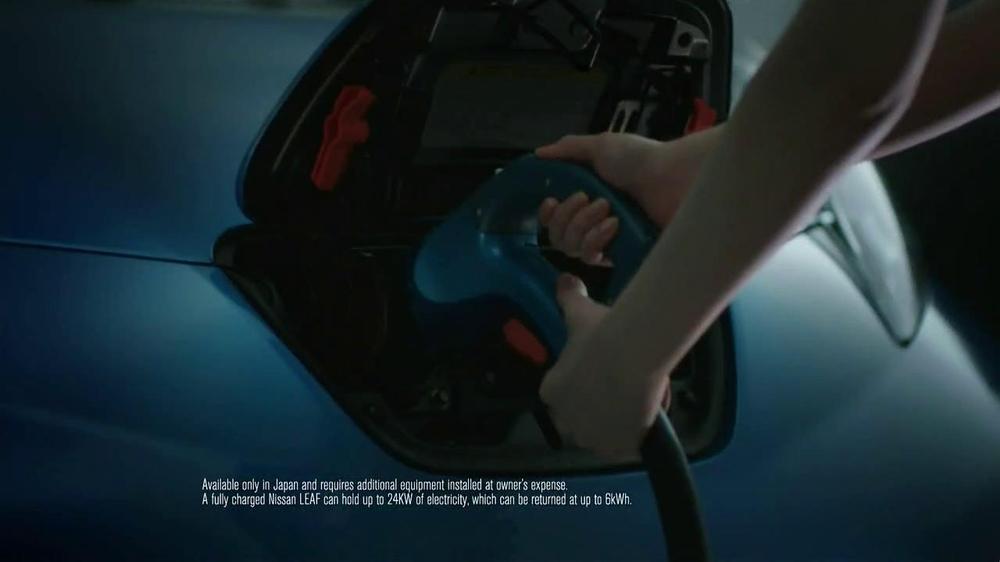 Nissan Leaf TV Spot, 'Drive the Future' Song by Bronze Radio Return - Screenshot 9