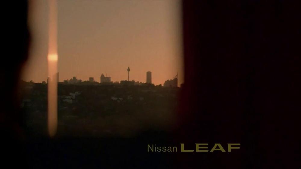 Nissan Leaf TV Spot, 'Drive the Future' Song by Bronze Radio Return - Screenshot 1