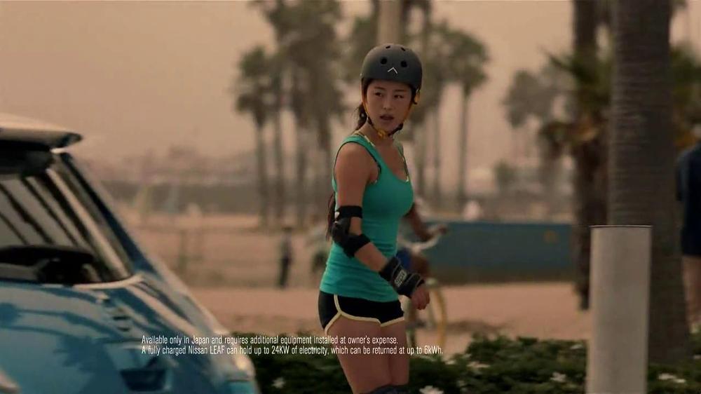 Nissan Leaf TV Spot, 'Drive the Future' Song by Bronze Radio Return - Screenshot 8