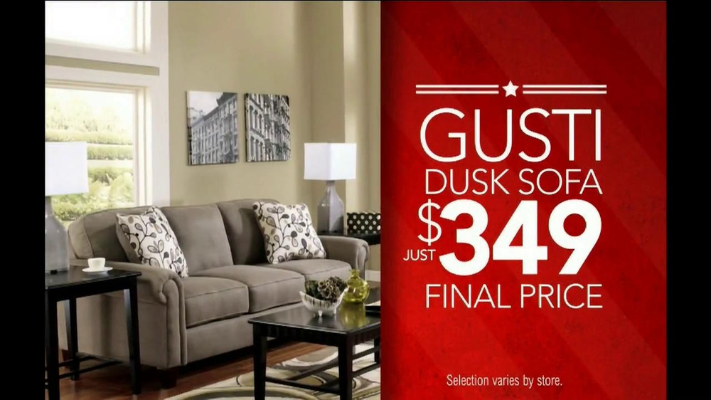Ashley Furniture Homestore Memorial Day Event Tv Commercial