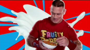 Fruity Pebbles TV Spot, Featuring John Cena