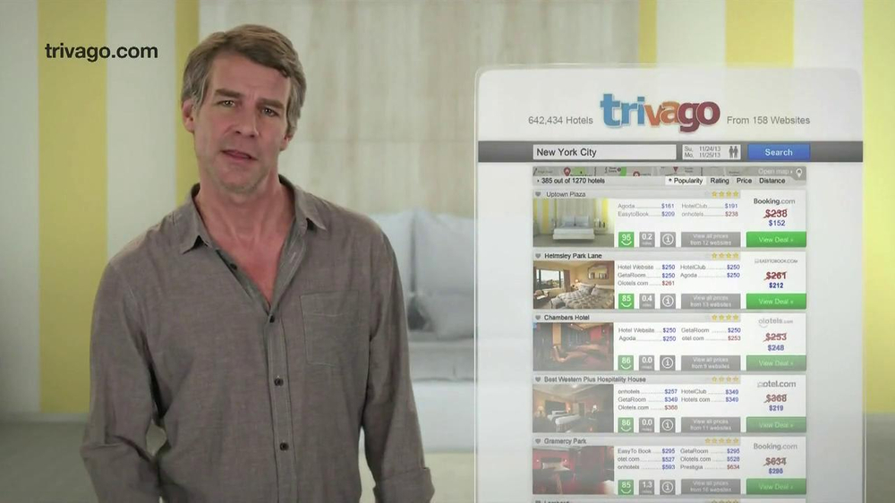 Trivago TV Spot, 'Compares Prices' - Screenshot 9