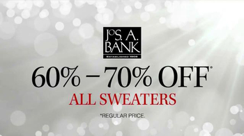 JoS. A. Bank TV Spot, 'Sale on all Sweaters'