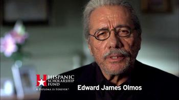 Hispanic Scholarship Fund TV Spot, 'For Forever' Feat. Edward James Olmos