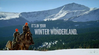 Cabela's Christmas Sale TV Spot, 'It's in Your Winter Wonderland'