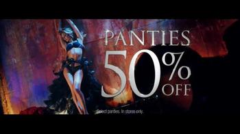 Victoria's Secret TV Spot, 'Panties 50% Off'