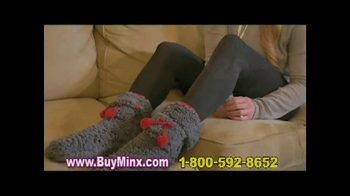 Minx Cell Phone Socks TV Spot, 'Walk on Air'